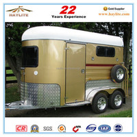 Deluxe 2horse trailer with Europ standard