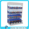 Hanging in the wall type vapor store display case retail shop acrylic e-liquid display