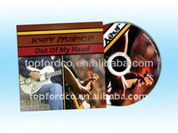 DVD Replication in Cardbord Sleeve Factory Direct Supply