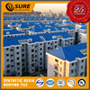 mobile home plastic material western styled synthetic resin roofing tile