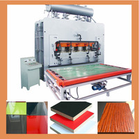 1200T short cycle lamination hot press machine/Melamine hot press/particle board production line