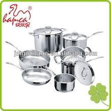 Professional Stainless Steel Cookware,Camping Cookware Set Stainless Steel /CSJ04