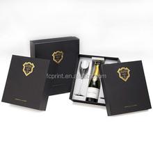 cute wine glass cardboard packaging box manufacturer in China