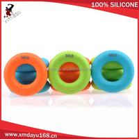 O ring shape silicone massage grip ball