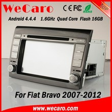 Wecaro WC-FB7000 Android 4.4.4 car dvd player 2 din autoradio for fiat bravo 2007 - 2012 bluetooth