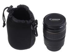 Neoprene DSLR Camera Lens Soft Protector Pouch Bag Case Set S M L XL