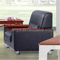stylish comfortable genuine leather 1+1+3 sofa set with wood armrest and metal base for living room