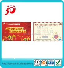 Fashional design for the scratch calling card