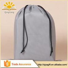 Customized printed shopping bag drawstring cotton shoe bag
