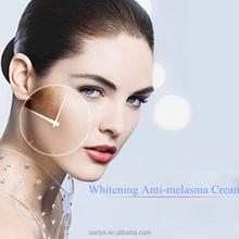 Planta compuesto ingredientes para blanquear Anti Melasma crema