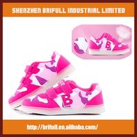 high quality led falshing night sports led light kids shoes