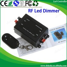 RF 3 keys RF Wireless led dimmer DC12-24V