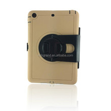 Stand business E book dustproof case for ipad mini 2 dual screen protector