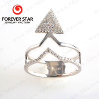Hot Sale Silver Jewelry Ring Model 925 Sterling Silver Jewelry Wholesale