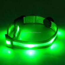 Protect pet at night luminous led dog collar