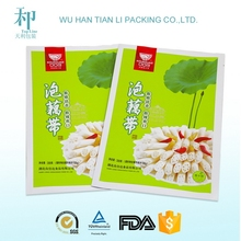 factory for customized printed biodegradable laminated health food frozen shrimp packaging bag
