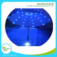 "21""*8k children kids handle LED light umbrella with staight shaft"