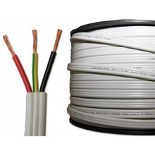JK Flat PVC Insulated sheathed ,TPS Cable tough plastic sheathed cable flat electrical cable
