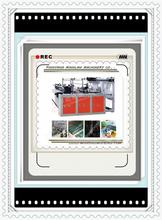 factory supply computer side hot sealing and cutting bag making machine made in China