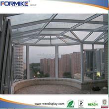 Rond de Patio toit verre maison