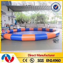 2015 Best product PVC large inflatable pool inflatable polyester fiberglass swimming pool for sale