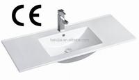 High quality bathroom vanity cabinet basin/above counter lavatory basin(BSJ-9100E)