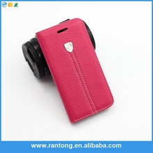 new products 2015 innovative product leather wallet case for samsung Galaxy s6 cell phone case accessories