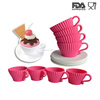 Shenzhen Feiaoda Silicone Cup And Saucer Cupcake Decorating Cake Tools
