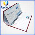 Venta al por mayor de encargo del calendario de mesa de diseño de impresión para encargo adviento calendario