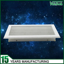 Factory china supply customized pvc material wall gas ventilation grilles