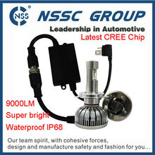 China automatic light super bright CREE led car headlight kit white light for all cars