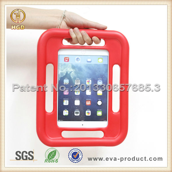 Soft grip hold Rugged rubberized hard case for iPad mini 2