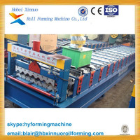 35-125-750 galvanized steel used roofing sheets making machine