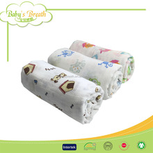 MS131 eco-friendly receiving blanket fabric wholesale, receiving airline blanket
