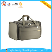 2015 promotional additional wheels large capacity outdoor travel polo bag