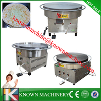800mm CE approval commercial gas rotating pancake/crepe maker/ pancake making equipment