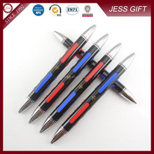 2015 Novelty Double Nib Metal Ballpoint Pen for Promotion