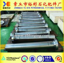 Yu Bin Factory rotating shaft, forged steel shafts, UT test forging product