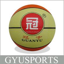 GY-D032 hot sale cheap price natura rubber mini animal basketball