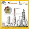 The double stage vacuum waste oil regeneration machine