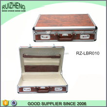 Business style brief aluminum case suitcase