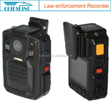 Continous recording 10h motion detecting police video body worn camera