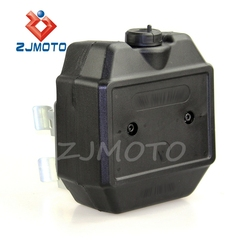 ZJMOTO DIRT BIKE MOTOCROSS FRONT FORK Auxiliary Fuel Tank KLX250 D-TRACKER KLX450R KDX125SR KFX450R FIT TO KAWASAKI CUSTOM