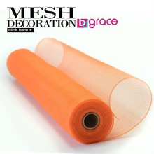 decorative deco mesh ribbon/mesh netting/net mesh for florist and holiday