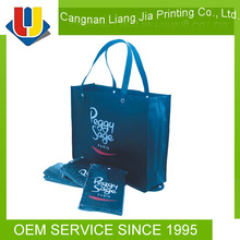 foldable tote bag / shopping tote bag / bamboo tote bag