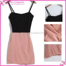 Bodycon Lady Dress Cotton Design
