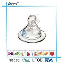 EN14000 Standard Silicone Natural Flow Level 2 Standard Infant Nipple