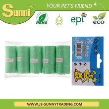 Sunny Pet Product Biodegradable HDPE+DRW Pet Grooming Bags