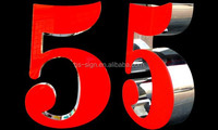 indoor 3d illuminated house numbers