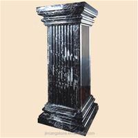 Customized stone wedding pedestal columns
